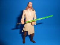 Star Wars 1998 Modern Style Qui-Gon Jinn Jedi Master ~ Lightsaber