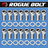 SBF HEADER BOLTS STAINLESS STEEL KIT SMALL BLOCK FORD 260 289 302 351W 351C 5.0L