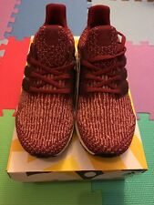 Adidas NMD Ultra Boost - Burgundy / Mystery Red - UK Size 8