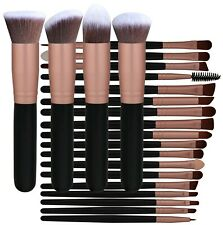 Bs-mall Professional 22 Pcs Rose Golden Make Up Brushes Set - Cosmetic Eyebrow S