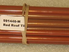 Moretti/Effetre #440-M Fun Red Roof Tile Glass Rods 5mm-6mm