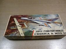 Dogfight Doubles CESSNA & MIG21 1/72 kit - AIRFIX RED STRIPE n° D365F