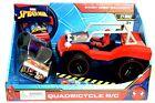 Marvel Spider-Man Stunt Ramp Included 27 MHZ Quadricycle R/C Ages 3+