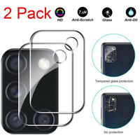 2PC Camera Lens Protector Tempered Glass Film For Samsung Galaxy A51 A71 5G A21S