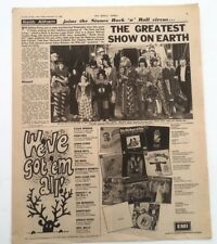 ROLLING STONES Rock n Roll circus review (NME) 1968 UK ARTICLE / clipping