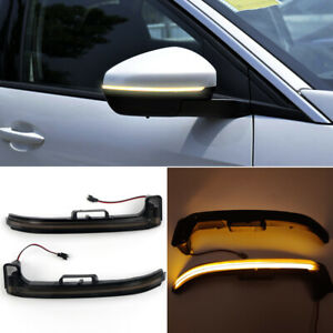 LED Side Mirror Sequential Dynamic Turn Signal Light For Peugeot 3008 5008 GT