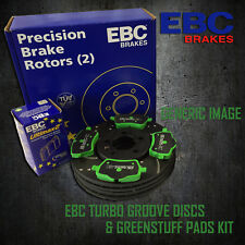 NEW EBC 321mm FRONT TURBO GROOVE GD DISCS AND GREENSTUFF PADS KIT KIT6787
