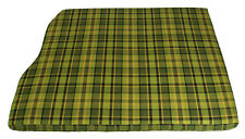 Westfalia 3/4 Over Engine Foam Cover for VW T2 late Bay Green Plaid C9420G