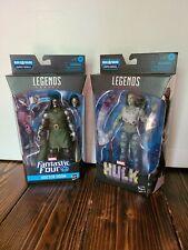 Marvel Legends Fantastic Four Super Skrull She Hulk & Doctor Doom FREE Shipping