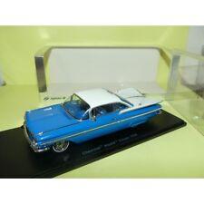CHEVROLET IMPALA COUPE 1959 Bleu et Blanc SPARK S2901 1:43