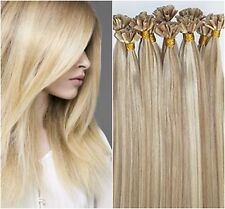 "Pre-Bond Keratin U-Tip Fusion 18"" Euro Remy Hair Extensions 100 Strand Any Color"