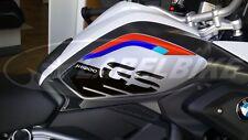 2 ADESIVI 3D PROTEZIONI LATERALI RALLY compatibili MOTO BMW GS R1200 dal 2017