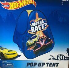 Hot Wheels POP UP TENT Wanna Race Playhut Popup Playhouse Kids Tent NEW