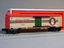 LIONEL EGG NOG STEEL SIDED REEFER o gauge train santa holiday drink 6-83311 NEW