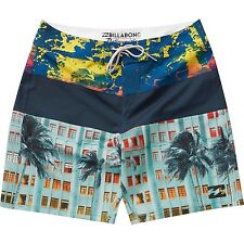 "Billabong Men Tribong X West Coast Modern 19"" PX Boardshorts Swimwear Sz 32"