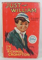 Just William #1 by Richmal Crompton 1953 39th Printing HC/DJ Illustrated