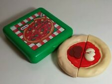 Vtg Little Tikes Fun with Pretend Play Food Grocery Pepperoni & Mushroom Pizza