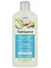 Natessance Shampoing Coco et Kératine Végétale 250 ml
