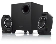 Creative 2.1 Portable Bass Speaker System Down-Firing Ported Subwoofer Black NEW