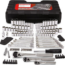 Craftsman 165 pc. Mechanics Tool Set Standard Metric Socket Ratchet Wrench Case
