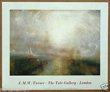 J.M.W. Turner Yacht Approaching the Coast Vintage Original Tate Gallery Litho