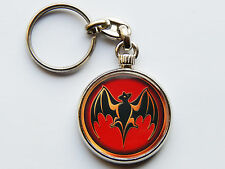 BACARDI Latin Spirit Drink Quality Chrome Keyring Picture on Both Sides!