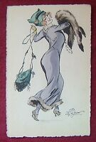 ARTIST SIGNED POSTCARD / WIEN - M.MUNK / Nr.600. / 1920