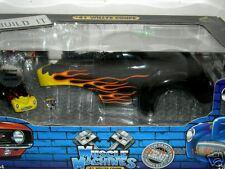 41 WILLYS BLACK  W/FLAMES BUILD KIT.MUS.MAC.1:18 MIB
