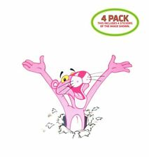 Pink Panther Sticker Vinyl Decal 4 Pack