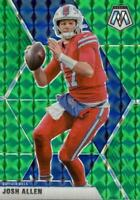 2020 Panini Mosaic Football Green Prizm #26 Josh Allen Buffalo Bills