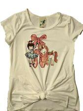 Lily Bleu ballerina unicorn tee