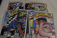 Adventures of Superman 10 issue lot, 438-447