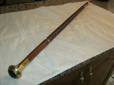 Older Men's Hand Carved Walking Stick, Found In Older Estate, Beautiful Must See