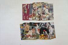 1995/96 Cricket Queensland Bulls set 20 cards
