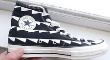 Converse All Star 70s High Top Black Zig Zag Men's Size 9.5  US NEW 1970 RETRO