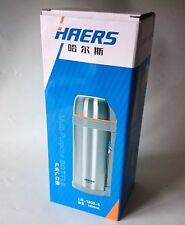 HAERS LG-1800-5 - 1.8 L CAPACITY STAINLESS STEEL THERMO w/ ACCESSORIES - NEW BOX