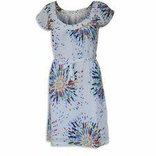 White Stuff Cotton Short Sleeve Round Neck Dresses for Women