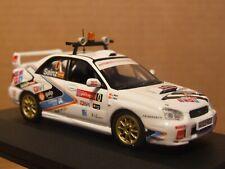 1:43 Scale  Subaru Impreza WRX    2005 WRC Course safety car   by IXO