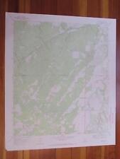Katemcy Texas 1973 Original Vintage Usgs Topo Map