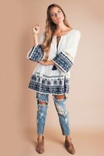NWT! $198 Free People Noyal Counting Stars' Tunic [SZ Small] #N642