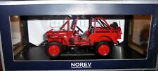 car 1/18 NOREV 189012 JEEP FIRE DEPARTAMENT 1988 NEW BOX
