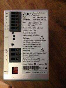 PLUS DP255.501 DIN Rail Dual Power Supply 24V DC 5A 120W and 5.1V 3A 110V/220V