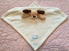 Brown Dog Security Blanket - Beige Tan Baby Lovey - Baby Baby  - Plush Animal