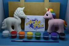 Paint Your Own Unicorn Gift Set Figure Personalised Him Her Birthday Fantasy