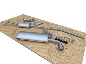 Auspuff CHEVROLET TRAX 1.4 Turbo +Rohr Vorne Auspuffanlage 4C2B