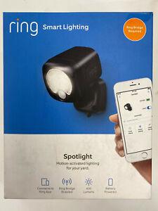 Ring Smart Lighting Spotlight Motion-Activated Outdoor 400 Lumens