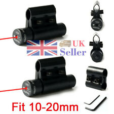Tactical Hunting Red Laser Dot Beam Sight Scope Picatinny Airsoft Pistol Mount