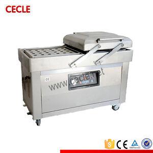 Double Chamber Vacuum Packing Machine DZ500/2C By SEA