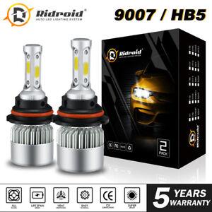 2pcs 9007 LED Conversion Kit Bulbs for 2000-2016 Peterbilt Pete Headlight Lamp