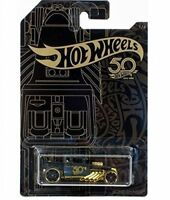 Hot Wheels 50th Anniversary Black  Gold Collection - Bone Shaker 16